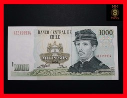 CHILE  1.000 1000 Pesos  2008  P. 154  MARK FOR BLINDS  UNC - Chili