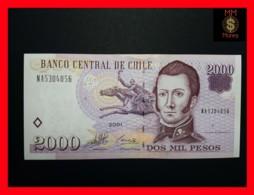 CHILE  2.000 2000 Pesos  2001  P. 158  UNC - Chili