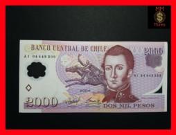 CHILE  2.000 2000 Pesos  2004  P. 160 POLYMER  UNC - Chili