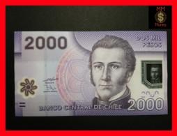 CHILE  2.000 Pesos  2009  P. 162  POLYMER  UNC - Chili