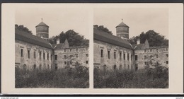 LITHUANIA LITUANIE LITAUEN Old Stereo Photo Card Eleonorava Castle #12435 - Lithuania