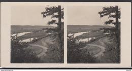 LITHUANIA Old Stereo Photo Card River Nevezis Raudondvaris #12436 - Lithuania