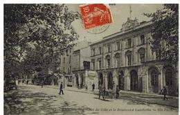 Cahors: Hôtel De Ville Et Boulevard Gambetta, Animation - Cahors