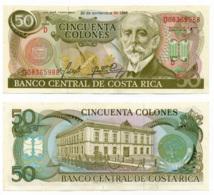1984 //  BANCO CENTRAL DE COSTA RICA // 50 Colones // SPL//AU - Costa Rica