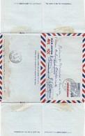 JAPAN. AEROGRAMMES 45 SEN POUR LA FRANCE. SHIBUYA  8 1 55  / 4 - Postal Stationery