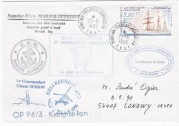 TAAF224 - Lot De 6 Lettres Port Aux Français, Port Aux  Français, Le Port (Réunion) Et Durban (Afrique Du Sud) - Französische Süd- Und Antarktisgebiete (TAAF)