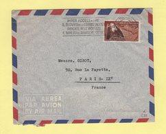 Italie - Milano - 1952 - Destination France - 6. 1946-.. Repubblica