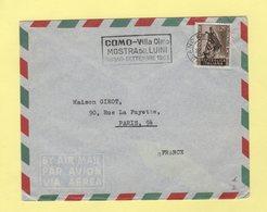 Italie - Milano - 1953 - Destination France - 6. 1946-.. Repubblica