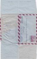 JAPAN. AEROGRAMMES 45 SEN POUR LA FRANCE. TAKANAKA 28 11 55  / 4 - Postal Stationery