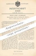 Original Patent - Wolff & Nees , Düsseldorf , 1895 , Glockenheber Spülung Für Abort   WC , Kloset , Toilette , Klempner - Historische Documenten