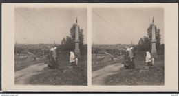 LITHUANIA LITUANIE LITAUEN Old Stereo Photo Card Raseiniai City #12439 - Litauen