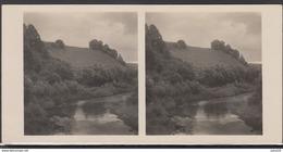 LITHUANIA LITUANIE LITAUEN Old Stereo Photo Card Gandinga Mound (Telsiu District) #12442 - Lithuania