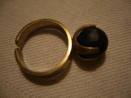 Silber-Ring Mit Lapislazuli-Kugel  (695) - Ringe