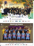 HANDBALL - JEUX OLYMPIQUES RIO BRESIL 2016 - EQUIPE DE FRANCE FEMININE - 2CP - Handball