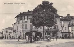 """08809 """"CUNEO - ROCCAVIONE - PIAZZA"""" ANIMATA   CART NON SPED - Cuneo"""