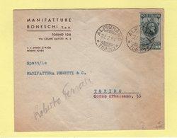 Italie - Alpignano - 1951 - Destination France - 6. 1946-.. Repubblica