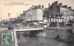 14 - Condé Sur Noireau - Pont De La Druance Et Rue De La Poissonnerie - Autres Communes