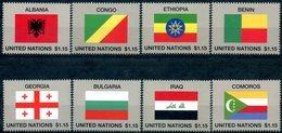 ONU New-York 2017 - Drapeaux Flags Flaggen ** - New-York - Siège De L'ONU