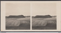 LITHUANIA LITUANIE LITAUEN Old Stereo Photo Card Varnupiai Mound (Marijampole District)  #12452 - Lithuania