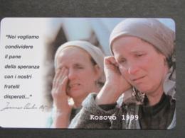 VATICANO SCV 64 - C&C 6064 - PROFUGHI KOSOVO 1999 - NUOVA PERFETTA - Vaticano