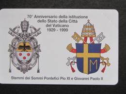 VATICANO SCV 58 - C&C 6058 - 70° CITTA' DEL VATICANO - NUOVA PERFETTA - Vatican