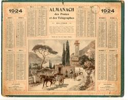 Almanach Des Postes Et Télégraphes1924 - Departement Des Deux-sèvres - Calendars