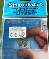 ShrinkArt-  6 Shrink Plastic Blanks (131x101 Mm) For The Art Of Rubber Stamping, Card-Maring, Jewellery And Scrapbooking - Paper Napkins (decorated)