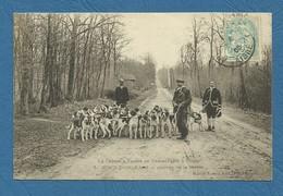Chasse A Courre En Basse Forêt à Coucy Arrivée De La Meute ( Ref 1) - France