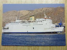 AQABA EXPRESS   Ex PRINSES MARIA ESMERALDA - Fähren