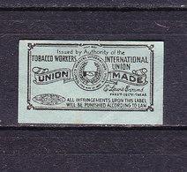 Taxmarke, Tobacco, USA (60059) - Gebührenstempel, Impoststempel