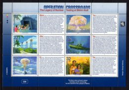 1996 Marshal Islands - 50 Years First Atom Bom Test At Bikini Operation Crossroads - Sheetlet MNH** MiNr. 723 - 728 (hj) - Marshall Islands