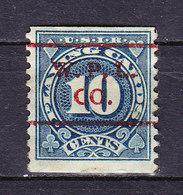 Taxmarke, Spielkarten, USA (60060) - Gebührenstempel, Impoststempel