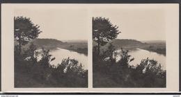 LITHUANIA Old Stereo Photo Card River Nemunas Near Balbieriskis (Alytus District) #12460 - Lithuania