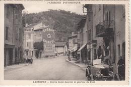 LABEGUDE  Source Saint Laurent Et Quartier Du Pont Avec Un Taco - France