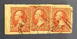 1894 - 1900 George Washington, United States Of America, USA, Used - United States
