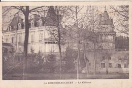 CPA - LA ROCHEBEAUCOURT Le Château - France