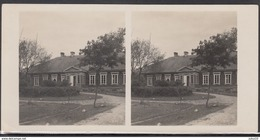 LITHUANIA LITUANIE LITAUEN Old Stereo Photo Card Bishop M. Valancius House In Varniai #12469 - Lithuania