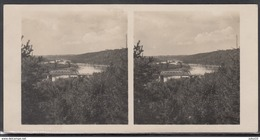 LITHUANIA LITUANIE LITAUEN Old Stereo Photo Card Bridge Across Nemunas (Alytus District) #12470 - Lithuania