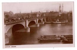 3163 - London ( England ) - London Bridge - ( Vraie Photo ) - River Thames