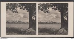 LITHUANIA LITUANIE LITAUEN Old Stereo Photo Card Telsiai City Masties Lake #12475 - Lithuania