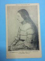 H.HOLBEIN D.J- ANNA MEYER, (jacobstochter,portrait Studie Zurdarmstadter Madonna) - Cartes Postales