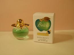 NEW!!!!  MINIATURE Eau De Toilette BELLA De N RICCI 4 Ml Les Belles De Nina - Miniatures Modernes (à Partir De 1961)