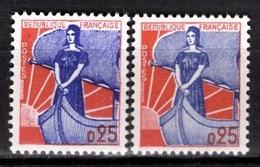 FRANCE 1960 -  Y.T. N° 1234 X 2 NUANCES - NEUFS** - Ungebraucht