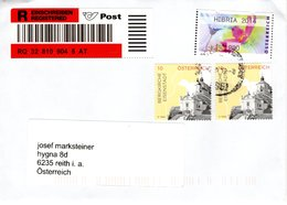 Reko - Brief Von 4863 Seewalchen Mit 310 Cent Schöner Mischfrankatur 2018 - 1945-.... 2. Republik