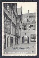 1947 BRUGGE BOERGOENSCHE CRUYCE WOLLESTRAAT GESIGNEERD ARTISTE PEINTRE WILLIAM A. SHERWOOD - Brugge