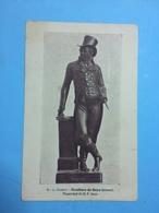 LE GILABERT-ESCULTURA DE GOYA ( BRONZE) - Cartes Postales