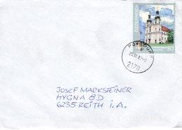 Brief Von 217 Poysdorf Mit 80 Cent Basilika Frauenkirchen 2018 - 1945-.... 2. Republik