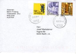 Brief Von 8052 Graz Wetzelsdorf Mit  80 Cent Mischfrankatur 2018 - 1945-.... 2. Republik