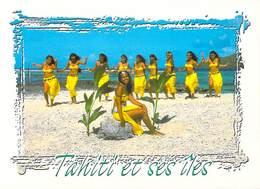 Polynésie Française- Le Groupe De Danseuses De MOEATA Du Célébre Chanteur Polynésien Gabilou (BV) -T.SYLVAIN Tahiti 1420 - Polynésie Française