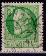 Germany - Bavaria 1914-20, King Ludwig III, 5pf, Sc#96, Used - Bavaria